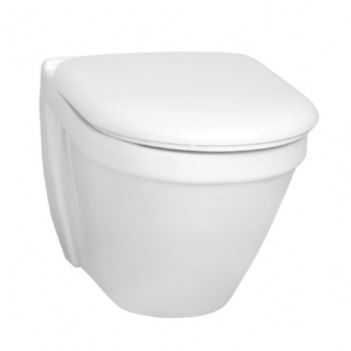 Vitra S50 Wall-Hung Toilet Pan Short Projection 480mm & Soft Close Seat